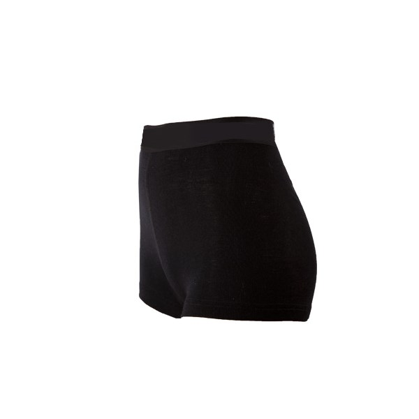 Janus Black Wool shorts